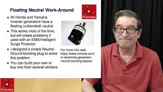 Portable RV generators webcast archive from May 19, 2019