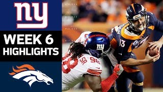 Giants vs. Broncos | NFL Week 6 Game Highlights thumbnail