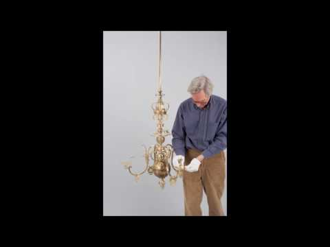 Dining Room Chandelier Reconstruction