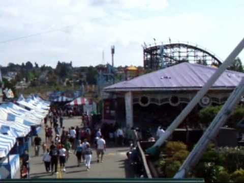 The Ferris Wheel at The Pacific National Exhibition, Vancouver, BC