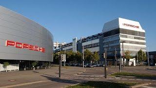Посещение завода Porsche