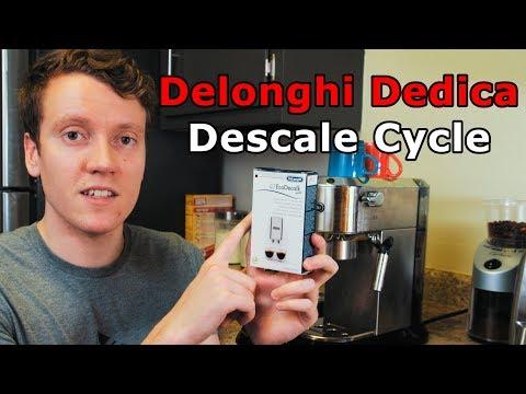 Delonghi Dedica Descale Cycle Tutorial