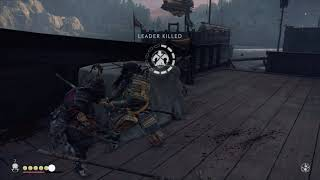 Ghost of Tsushima - The Tale of Ryuzo: Search The Ship For Food with Ryuzo (Mongol War Plans) (2020)