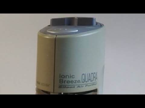 How To Clean Air Purifier Ionic Breeze Quadra