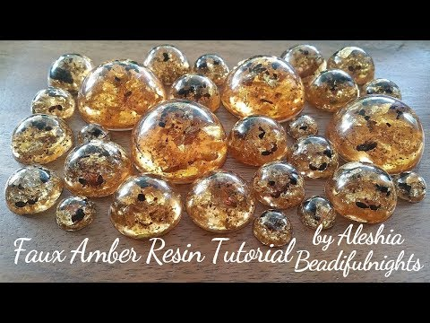 Faux Amber Resin Tutorial