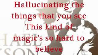 Michael Jackson Mind is the Magic Lyrics HD