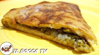 644 - Torta di patate con porri..e poi a tavola corri! (merenda alternativa facile sfiziosa genuina)