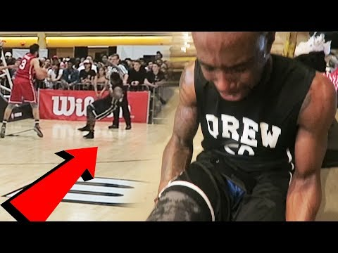 I GOT INJURED BAD IN SNEAKER CON HOOPS BASKETBALL GAME! Getting My Hairline Roast!
