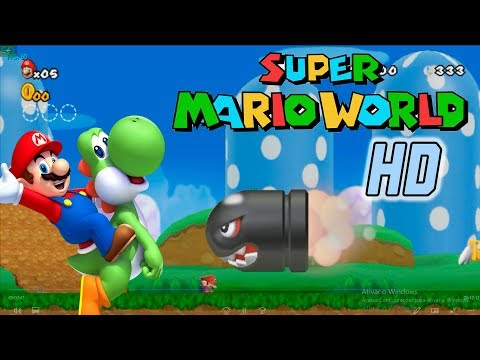 Super Mario World HD - Que jogo Marioavilhoso