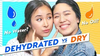 🌵How to Treat Dry VS Dehydrated Skin🌵Most Effective Skincare Routine + Tips for Both