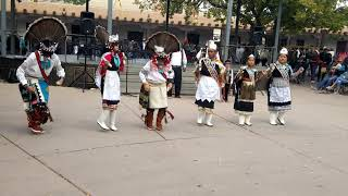 Santa Fe Indigenous Day Commemoration 2018 -   Zuni Dance Group
