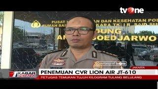 Saat Mencari CVR Lion Air, Petugas Temukan 7 KG Tulang Belulang