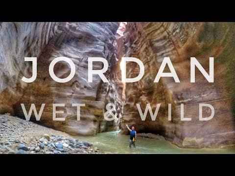JORDAN - WET & WILD - Dead Sea & Wadi Mujib