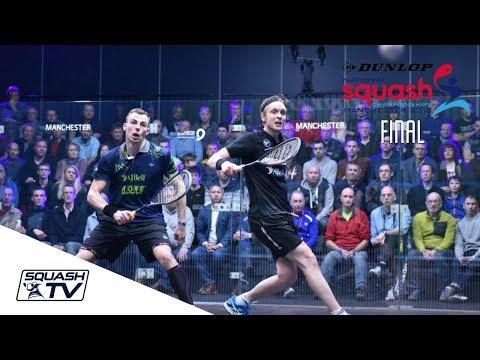 Squash: Matthew v Willstrop - Dunlop British Nationals 2018 - Men's Final Roundup