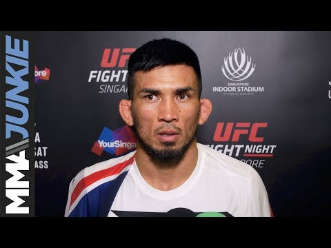 Quit never an option for Russell Doane, looking forward to celebrating UFC Fight Night 111 win