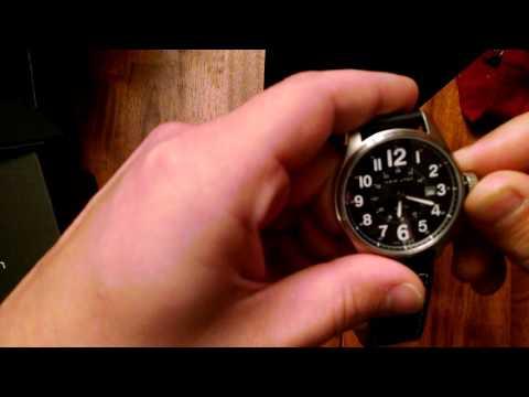 Hamilton Khaki Field Officer Wristwatch Unboxing