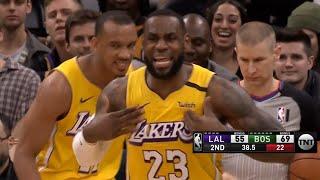 Los Angeles Lakers vs Boston Celtics 1st Half Highlights | January 20, 2019-20 NBA Season