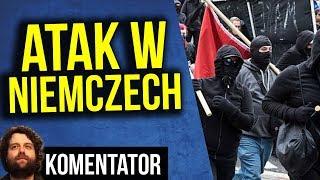 Polka Zaatakowana w Niemczech przez Antifę  - Kto Daje Im Pieniądze? - Analiza Komentator