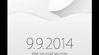 Apple Event Live Show - iPhone 6, iOS 8, Apple Watch and more!
