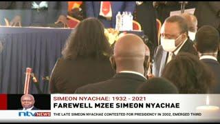 LIVE | President Uhuru, DP Ruto attend Simeon Nyachae's burial ceremony