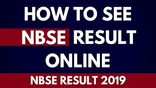 How To See Nbse Result Online | How to see NBSE Result 2019