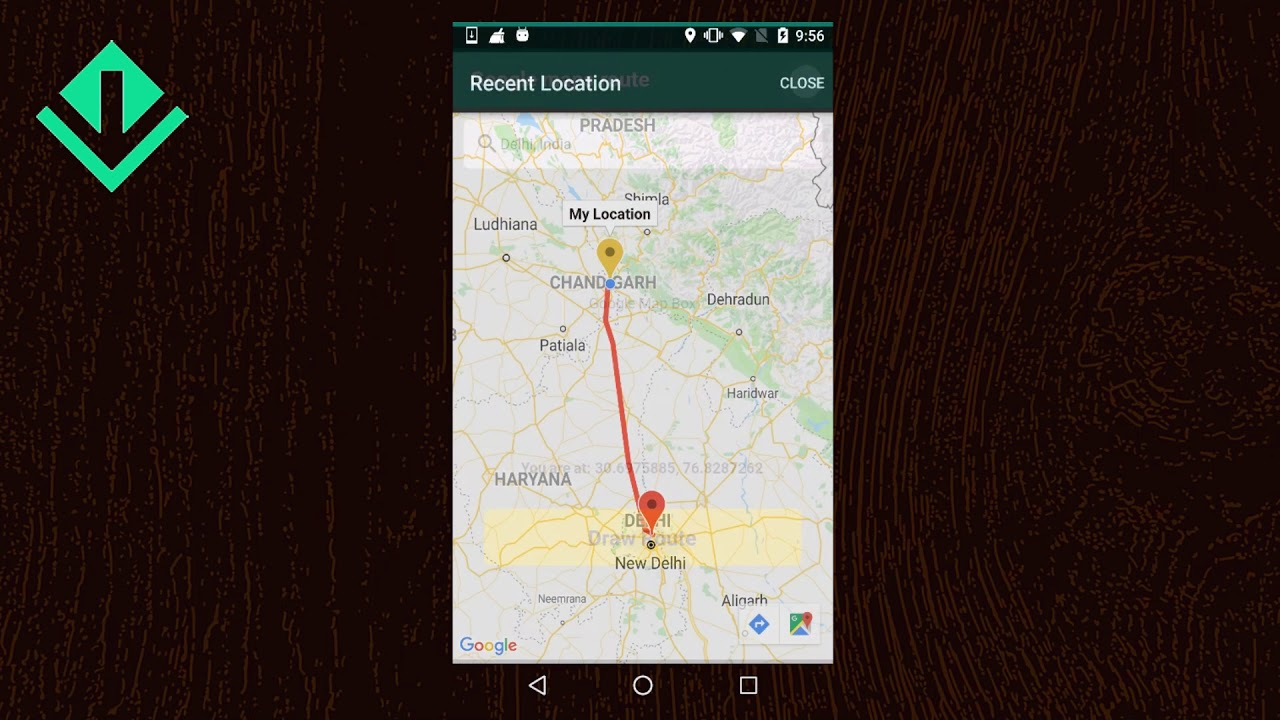 Flutter - Draw route on Google maps between markers