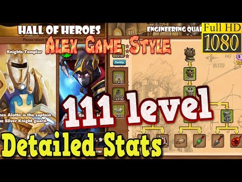 The King Of Towers - Detailed Stats 111 Level - Top Game Progress From AlexGameStyle (Part 186)
