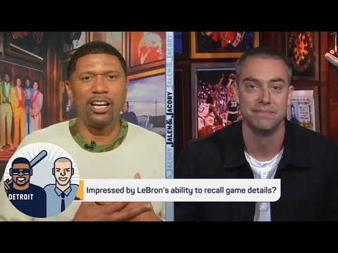 Jalen and Jacoby: Let's not call LeBron James genius for remembering plays   Jalen & Jacoby   ESPN