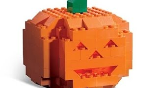 Анбоксинг новых LEGO-минифигурок: Simpsons, Halloween!