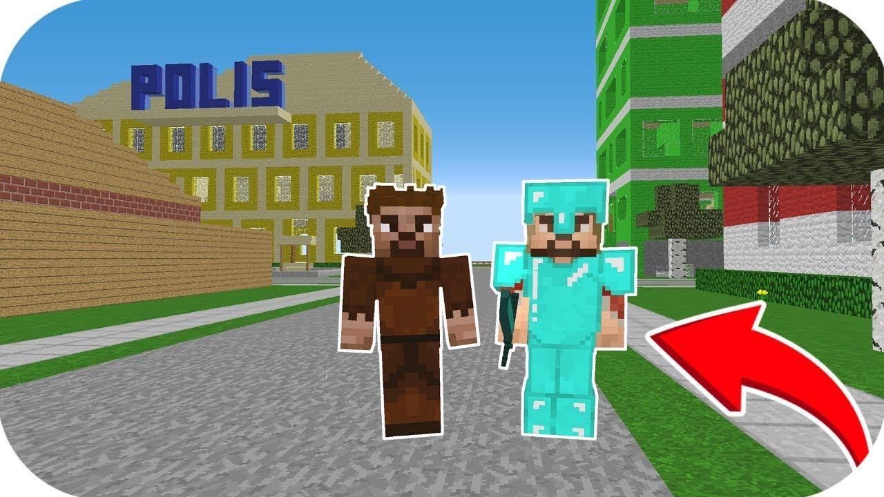 Zengin Ve Fakir Eski Sehre Tasiniyor Minecraft Youtube