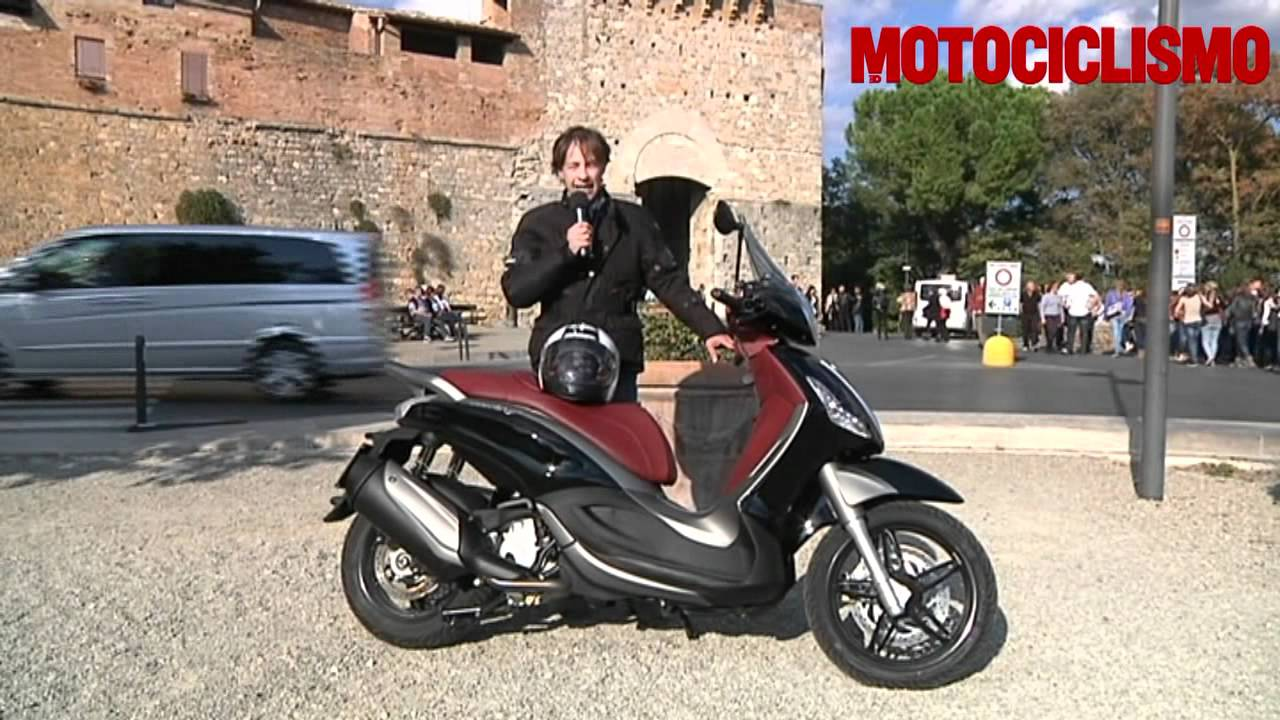 Piaggio beverly sport touring 350: test youtube