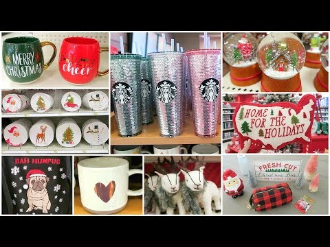 Target Christmas Decor Shop With Me + Christmas Decor Haul