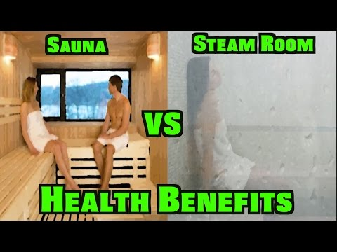 Sauna vs. Steam Room Health Benefits