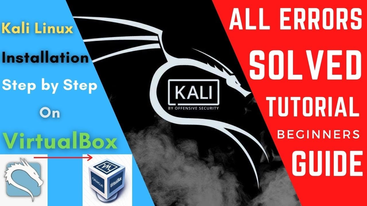 How To Install Kali Linux in Virtualbox | Install Kali ...
