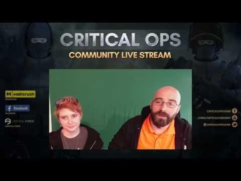 Critical Ops Community Stream 16.9.2016