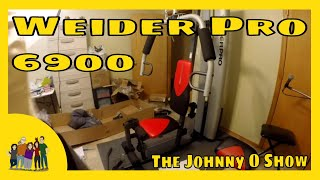 Ep. #156 Weider Pro 6900 Home Gym Unbox, Setup, & Review