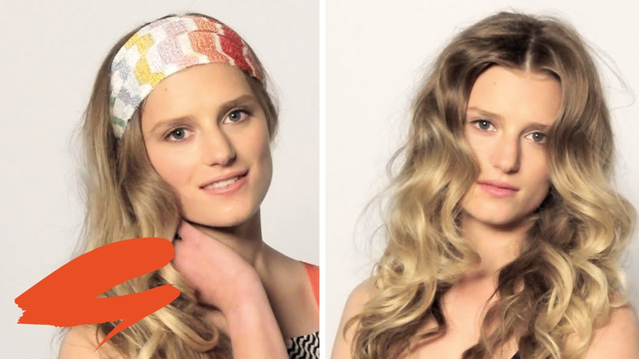 How to do a super 70s hair with Bruce Masefield | Get The ...
