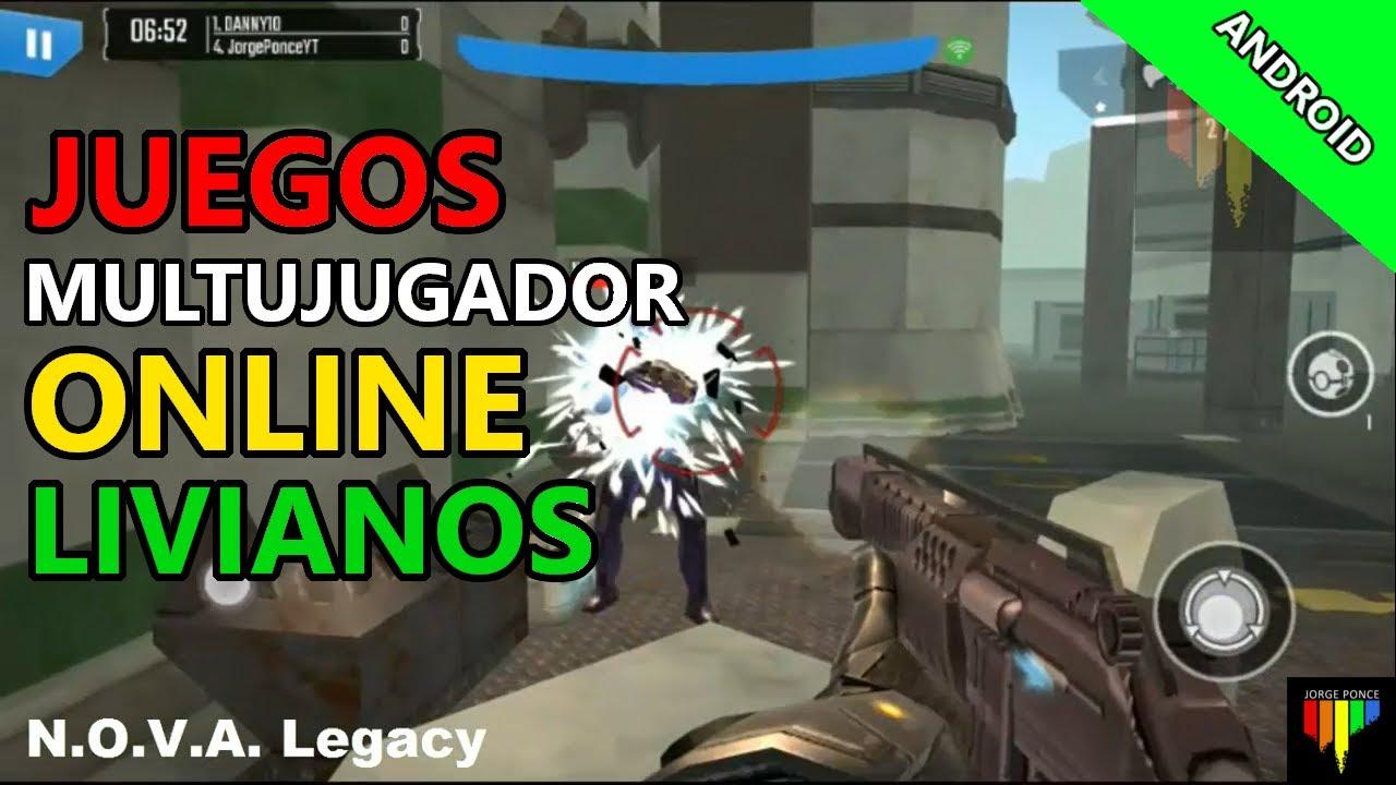 Los Mejores Juegos Multijugador Online Livianos Para Android Youtube