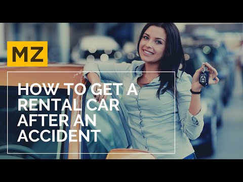 Getting a Rental Car After a Car Accident