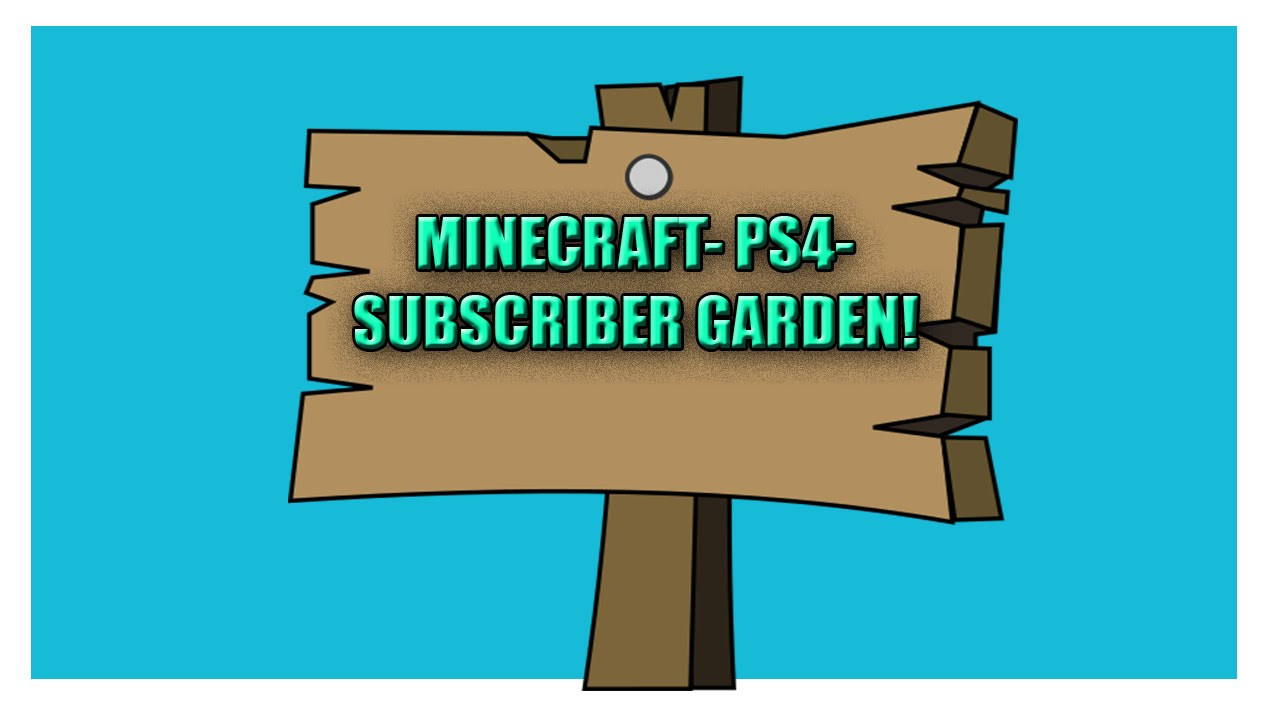 how to make a sign in minecraft ps4
