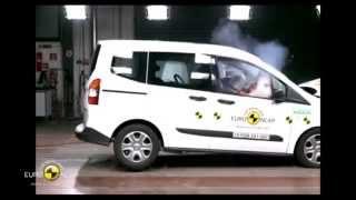 Ford Tourneo Courier - Crash Tests 2014 | AutoMotoTV