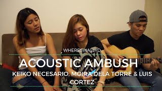 Don't Know Why by Norah Jones (Cover) - Keiko, Moira & Luis || WHERESWALLYD (Vlog 005)