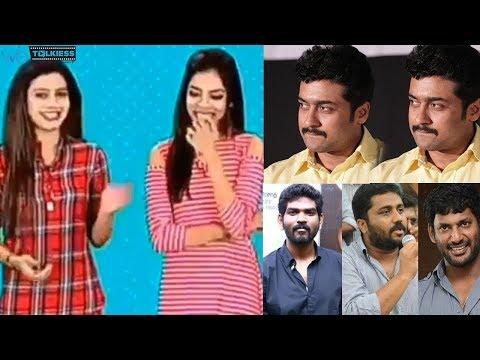Suriya's height abused by Sun music VJ - Kollywood celebrities angry reaction