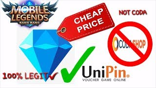 How to Buy Diamonds in Mobile Legends using UniPin - As Low