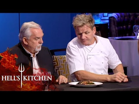 John Ratzenberger & Gordon Ramsay Judge Food   Hell's Kitchen