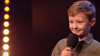 Britain's Got Talent 2017 Ned Woodman 8 Year Old Comedian Full Audition S11E01 thumbnail
