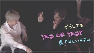 どうしてもYES or YESを見てほしいテテw【防弾少年団 BTS マンネライン】