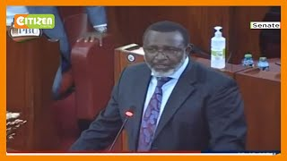 Meru senator Mithika Linturi narrates the ordeal after a brief arrest by DCI officers