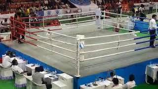 Скачать Boxer Brijesh Yadav Defeating Boxer Shubham Choudhary In Indian National Boxing Championship
