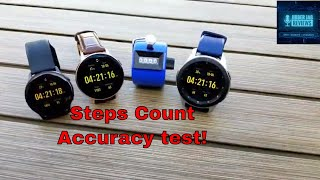 Galaxy Watch Active 2/Galaxy Watch/Watch Active Head-to-Head Step Count Accuracy Test!